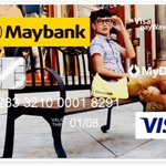 Put your own picture on your new debit card with Maybank! 😍 https://t.co/jRWLJEHTMG
