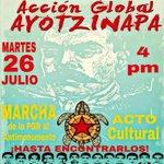 Mañana acompañemos a los valientes padres de los 43 normalistas de #Ayotzinapa ,Si olvidamos el narcogobierno gana! https://t.co/McKDdLnxNL