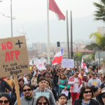 RT! Imágenes de la Multitudinaria Marcha NO + AFP en #Antofagasta https://t.co/YX6N0GDbCw