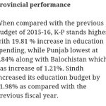 Brand Nawaz Sharif... Punjab has the least allocation of budget for education! https://t.co/8I2g8Fgm38