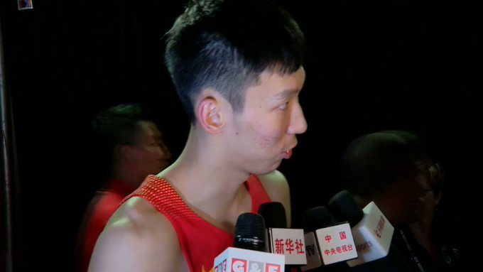 Team China went head-to-head with Team USA in California in an exhibition game on Sunday. https://t.co/iesj7akRxt