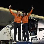 BREAKING: it's a first in the history of #energy, @solarimpulse is only the beginning, #futureisclean https://t.co/sRjD59Gi2x