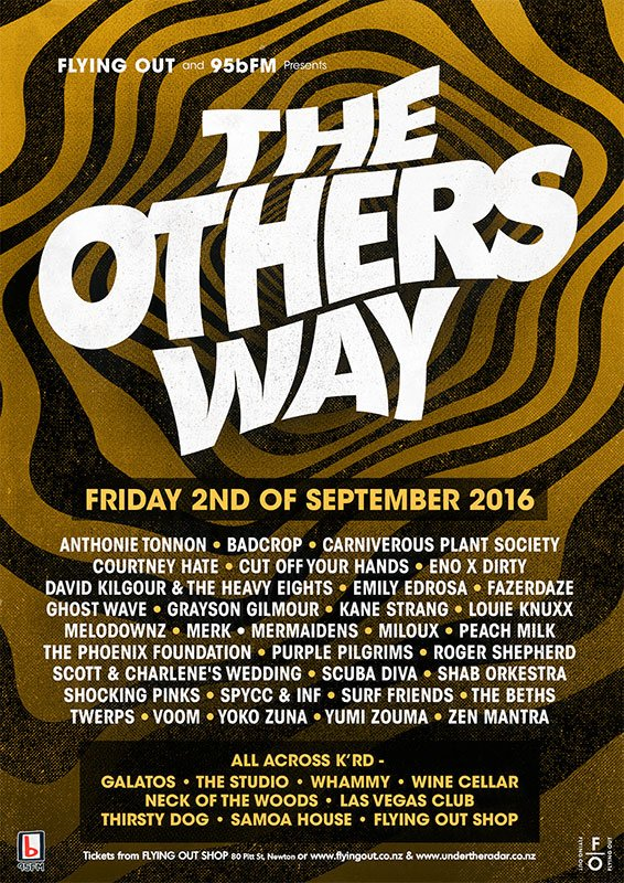 Have you checked out The Others Way line-up yet? It's gonna be good. Tickets available from @undertheradarnz https://t.co/lDTObFZrdc