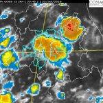 Un banco de nubosidad que se aproxima a #Morelos favorecerá #lluvias y actividad eléctrica en las próximas 3 horas. https://t.co/123lUg60gv