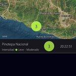 Se registra sismo de intensidad leve en la zona de Pinotepa Nacional, Oaxaca. https://t.co/8P9aAkY9jm