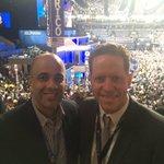 En la Convención Demócrata junto a Hector Ferrer. Aprovechando cada espacio para impulsar la recuperación de PR. https://t.co/tzjwNCbWkM