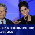 """Sarah Silverman to Bernie supporters at DNC: """"You're being ridiculous"""" https://t.co/1n4qJ06DZ7 #DemsInPhilly https://t.co/4nqUIAH8kE"""