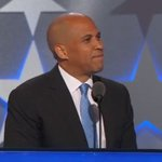"""""""When we are indivisible, we are invincible,"""" Cory Booker says. Watch live: https://t.co/gR4PuLRHVh #DemsinPhilly https://t.co/RaoHY1FkAz"""