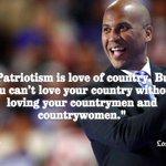 Cory Booker on patriotism https://t.co/6lKNWLSHq9 https://t.co/9ymO4RqRAM