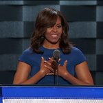 Live video: @michelleobama is speaking now at the DNC in Philadelphia https://t.co/sE7soLM3bY #DemsInPhilly https://t.co/WWGtVW9TIK