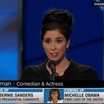"""Sarah Silverman to booing #DNC2016: """"To the Bernie or bust crowd, youre being ridiculous"""" https://t.co/joP5pO0dMW https://t.co/ril65k0k3D"""
