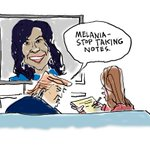 Globe cartoonist Dan Wasserman on Michelle Obamas speech: https://t.co/Yqo3cBdy7j #DemsinPhilly https://t.co/f5nfCI7PwI