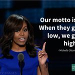 .@michelleobama is bringing it -- watch live: https://t.co/s7Y5ESr21N #DemsinPhilly #demconvention https://t.co/UY0km9eQtb