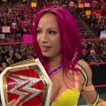 What a way to kick off a #NewEra for the @WWE Womens division... #RAW @SashaBanksWWE https://t.co/UfBMN0i5IK