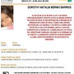 #Urgente Se activa #AlertaAmber para localizar a Dorothy Merino Barrios extraviada en Venustiano Carranza https://t.co/fUNNWW8g3r