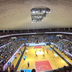 5 mil personas presentes en el partido histórico de la selección mexicana de voleibol en #Guanajuato 👏🏻🏐🇲🇽🇩🇴 https://t.co/dPctupukiA