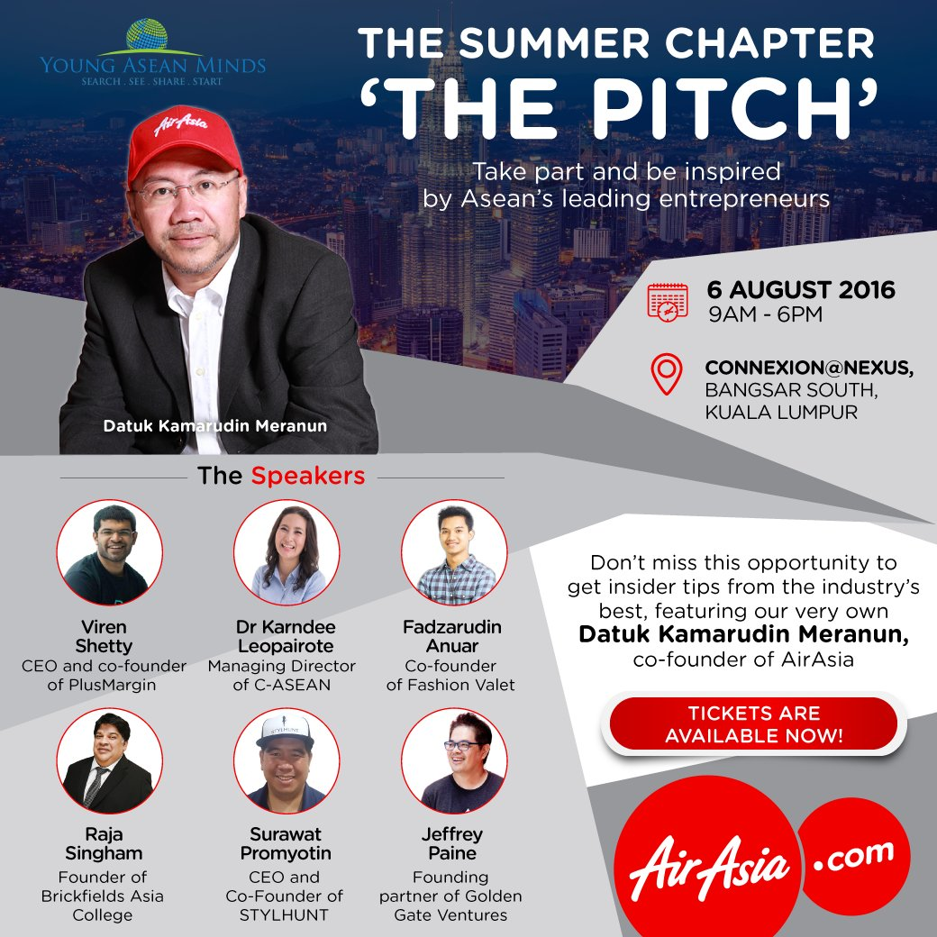 Learn the ins & outs of entrepreneurship @ The Summer Chapter - The Pitch this 6 Aug! More @