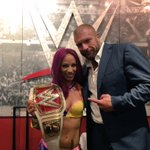 The new era of @WWE was just punctuated by a #BankStatement. Congratulations @SashaBanksWWE!! #Raw #TrueBoss https://t.co/SLqdHTj5sG