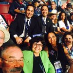 With the Texas delegation at the DNC tonight. @Castro4Congress #DNCinPHL #ImWithHer https://t.co/hyQAPvF4IN