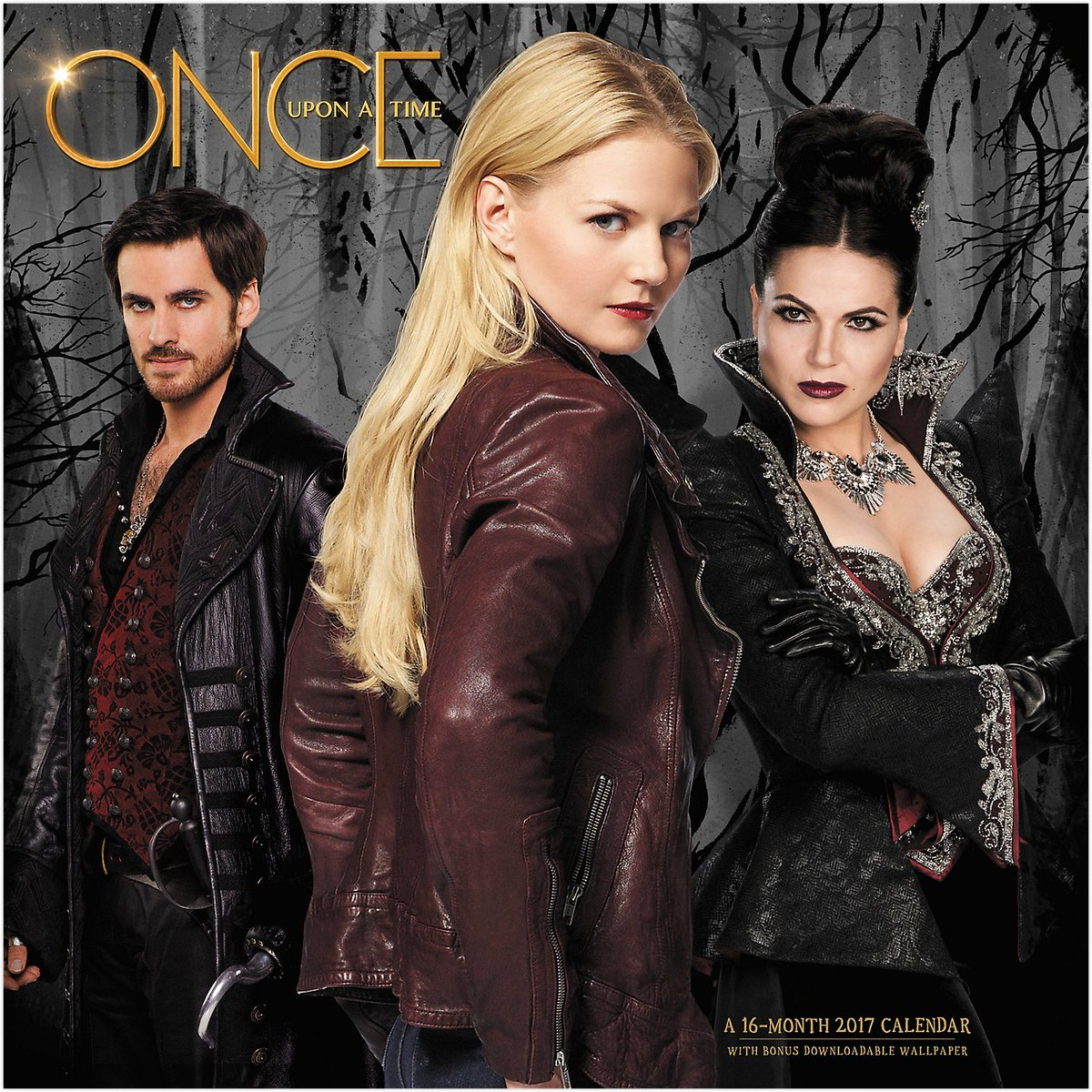 See the front of the new @OnceABC 2017 calendar featuring @LanaParrilla @jenmorrisonlive + @colinodonoghue1 #OUAT https://t.co/NvMGEWub72