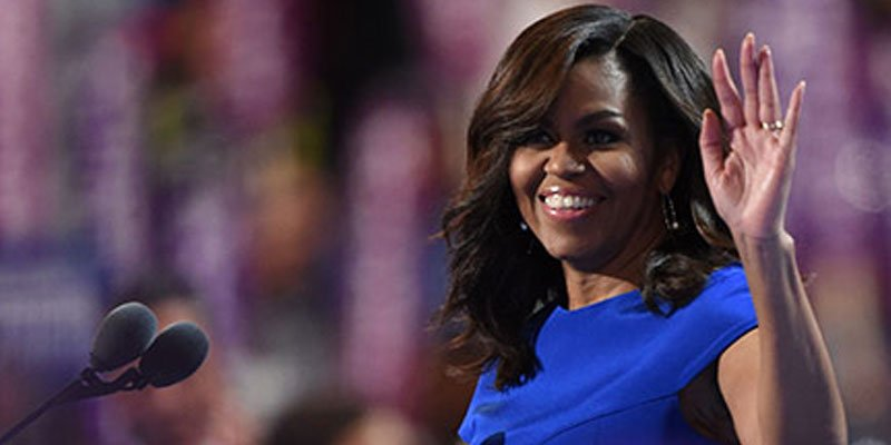 Michelle Obama takes on Trump—'Don't let anyone ever tell you that this country isn't great'