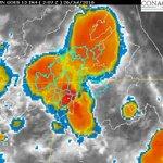 Se pronostica que en las siguientes 3 horas las lluvias del noreste se extiendan hacia el resto de #Morelos https://t.co/z27Sh7Nw0a