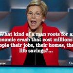 Sen. Elizabeth Warren on Donald Trump https://t.co/jgbGKxN4oC https://t.co/eZ6qz1j01E