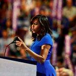 Michelle Obama takes aim at Donald Trump in rousing DNC speech https://t.co/AkoeBaAKnP https://t.co/1ya6YULoGB