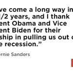 Bernie Sanders praised @POTUS and @JoeBiden in #DemsInPhilly speech: https://t.co/HdBh7Bq8fQ https://t.co/ThkxYknSci