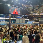 "As @SenWarren praised @HillaryClinton, part of DNC crowd chanted ""Goldman Sachs."" #DemsInPhilly https://t.co/LfFPIKqi73"
