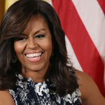 """""""Because of Hillary my daughters now take for granted that a woman can be president of the US."""" @MichelleObama #2024 https://t.co/7L2Li1hZzy"""