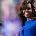 #MichelleObama says #HillaryClinton will be president her daughters can look up to https://t.co/Ta8ZPoDsTG https://t.co/fy8EyViTTa
