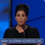 """.@SarahKSilverman: """"To the Bernie or Bust people: Youre being ridiculous"""" https://t.co/Zlq9XNTJPS #DemsInPhilly https://t.co/GvS98BIgIF"""