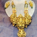 Temple design on a necklace #rjia #retailjewellerindiaawards #rjia2016 #india #mumbai #jeweller #awards #necklace https://t.co/cCkthZsnQr