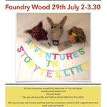 Bring your kids to @FoundryWood to enjoy the Adventures in Storytelling this Friday! #loveleam #SchoolHolidays https://t.co/nvnniTL58v