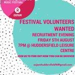 Love #music & #festivals? Help bring @OxjamFestival to #Huddersfield! #TuesdayMotivation #charitytuesday #volunteer https://t.co/PJyIsQE575