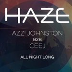 This Saturday catch Azz Johnston and Ceej B2B all night long in the boom room https://t.co/xh33yoClRP