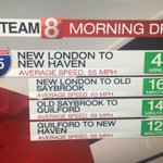 The last of the construction is clearing down 91s in #NewHaven. Drive times are looking good! @WTNH https://t.co/JiIBO3eivD
