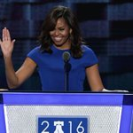 Michelle Obama stirs Democrats with rousing speech backing Hillary Clinton https://t.co/GTuoYVKjkO https://t.co/hm94UTMTWn