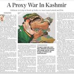 A proxy war in Kashmir ... Read my article in todays The Times of India https://t.co/0u5Cy1WET7 https://t.co/8ZDwTtbHQS
