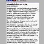 """""""The ANC is the organisation of the future. Nobody can deny the ANC that role."""" https://t.co/ElVB85gNbU"""