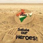Sand artist Sudarsan Pattnaik pays tribute to the Kargil War heroes with a sand sculpture on #KargilVijayDiwas https://t.co/0O5OsBnoa8