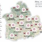 Buenos días. Martes despejado en #Sevillahoy con máximas de 39ºC y mínimas de 23ºC: https://t.co/RGIpLWOzr8