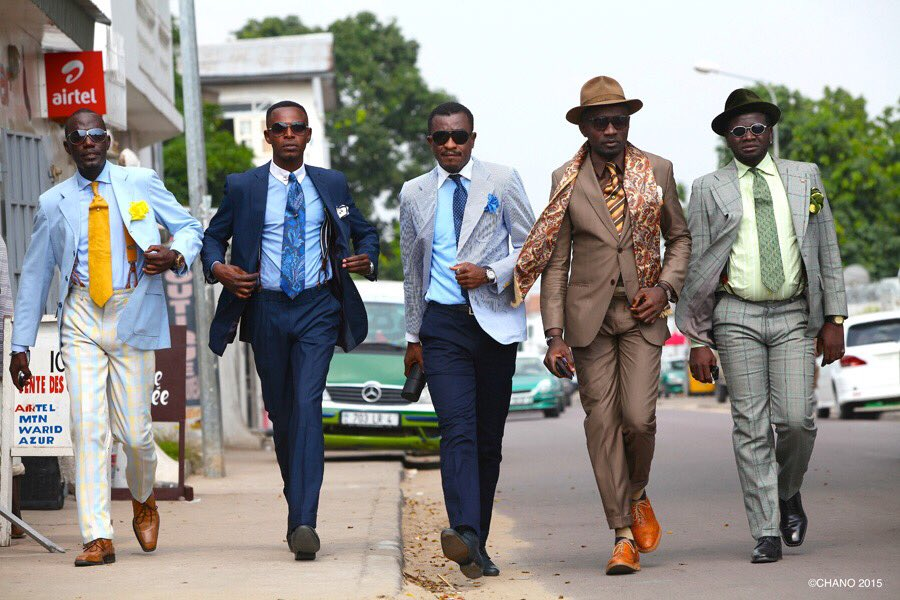 現在来日中のアフリカ・コンゴ共和国のおしゃれ紳士集団『SAPEUR(サプール)』 なんと、本日Kob…
