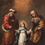 Hoy en el Santoral] Día de San Joaquín y Santa Ana, padres de la Virgen María. https://t.co/AuKWiBMB3H