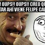 #MomentosIncómodos cuando VicenteFoxQue te dice #LaNetaYoSiTe vomito FelipeCalderon #MeVomitoEnCalderonYMargarita https://t.co/4PbAklAFJR