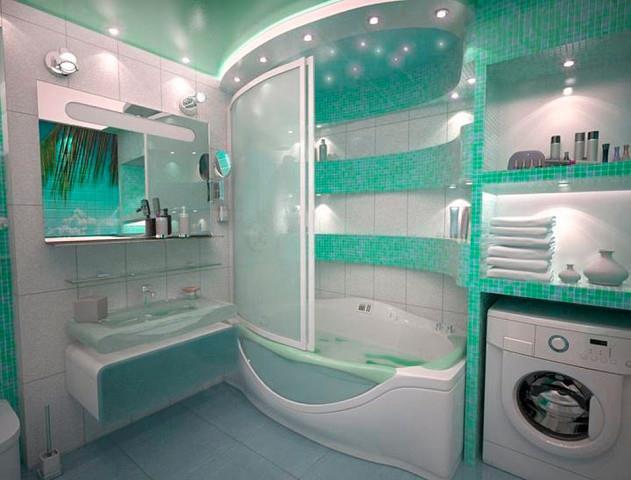 Фото дизайн ремонта в ванной