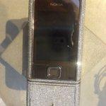 Daimond Nokia phone #rjia #retailjewelerindiaawards #rjia2016 #mumbai #jewellery #unique #daimondphone #india https://t.co/3bOr9h1Cjb
