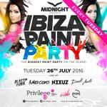 .@Plastikfunkdjs @Luka_Caro @nexuzofficial tonight at Ibiza Paint Party in @privilege_ibiza https://t.co/XlclVz0DJo