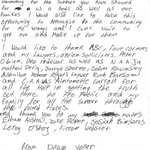 Letter issued by Dylan Voller after video emerged of him at the #DonDale Youth Detention Centre on #4Corners #auspol https://t.co/CRkmxJ854s